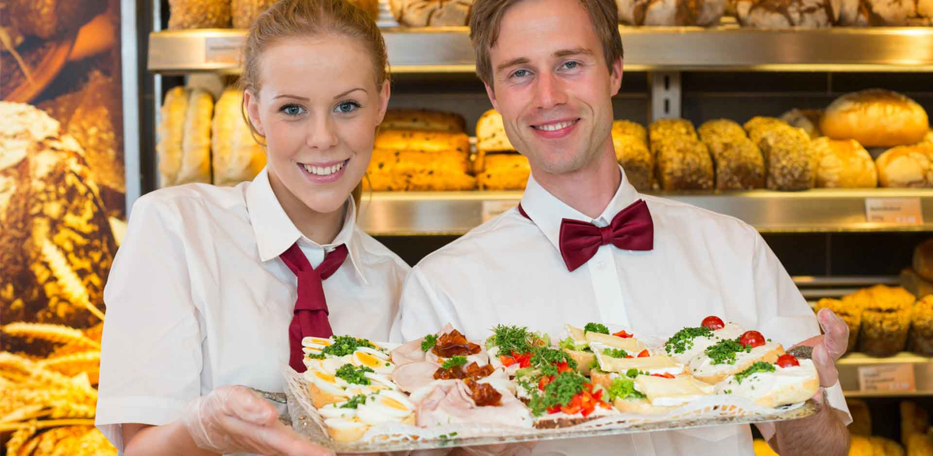Visual Merchandising Bäckerei - Online Marketing Tools Food - Food Design mit Springform